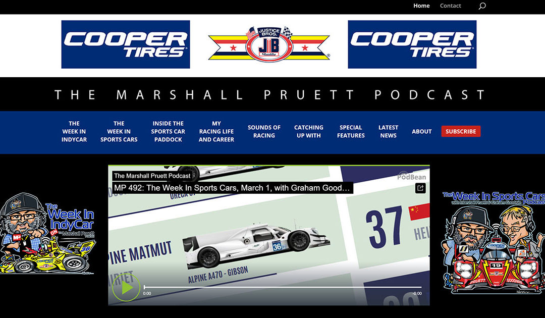 The New Marshall Pruett Podcast Site Is Here!
